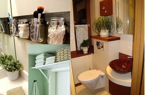 Даже маленькое пространство можно разнообразить различными элементами декора