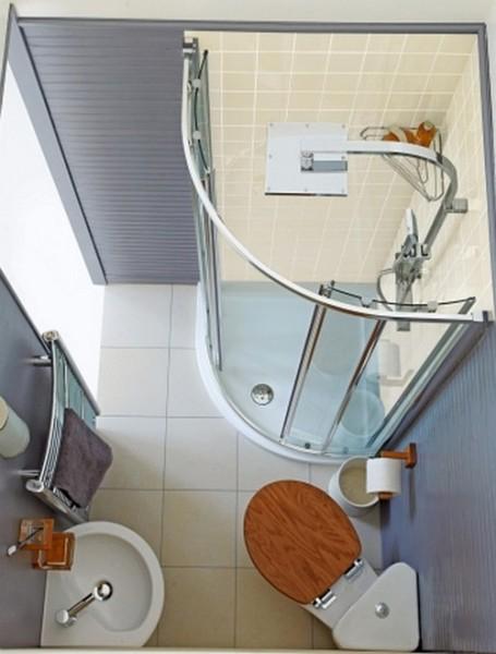 Вид сверху ванной 3 на 3 кв м