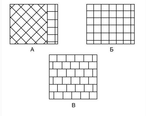 Графическое отображение схем укладки