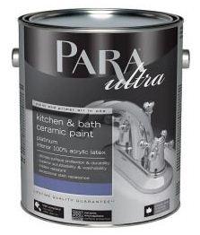 Один из вариантов краски для окрашивания плиточной поверхности в кухне или ванной