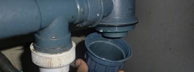 Демонтаж гидрозатвора для последующей чистки