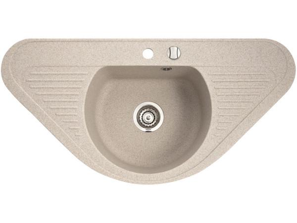 Крылья позволят воде стекать с посуды в раковину, а не на стол.