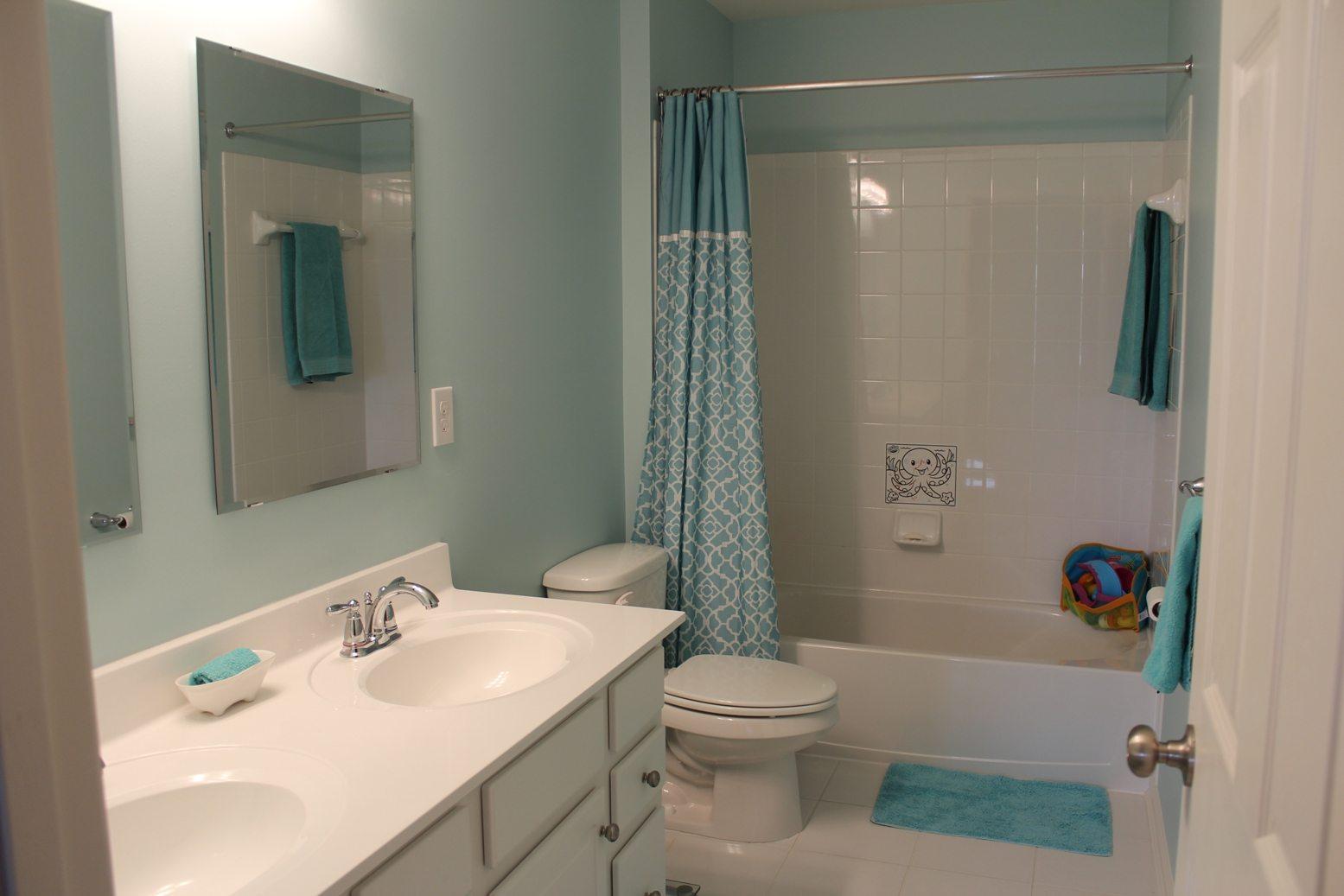 Покраска ванной комнаты своими руками фото 182