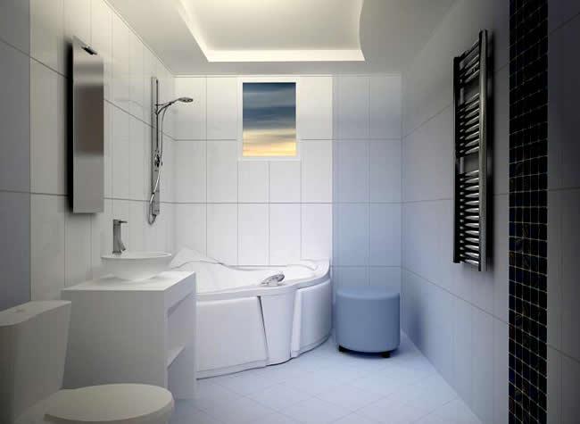 Ванная комната потолки гипсокартон ванная комната работы дизайнера