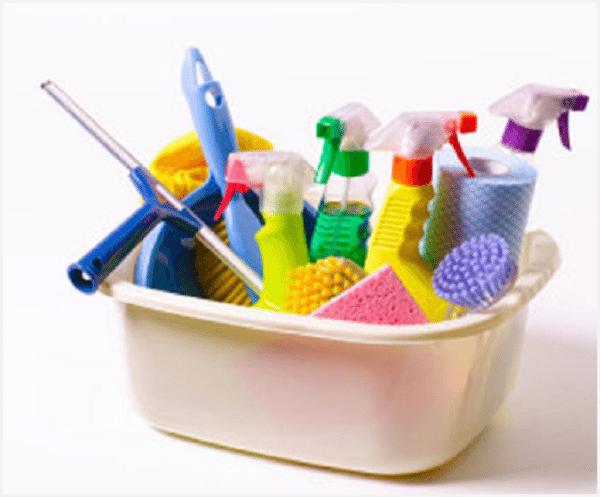 Бытовая химия для чистки плитки