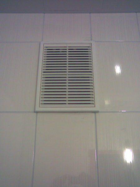 Декоративная решетка вентиляционного канала.