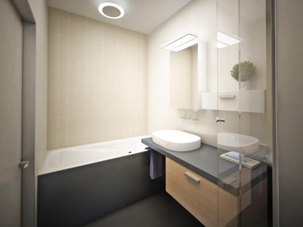 Эта комната в современном стиле отличается минимумом мебели и аксессуаров, здесь больше четких линий.