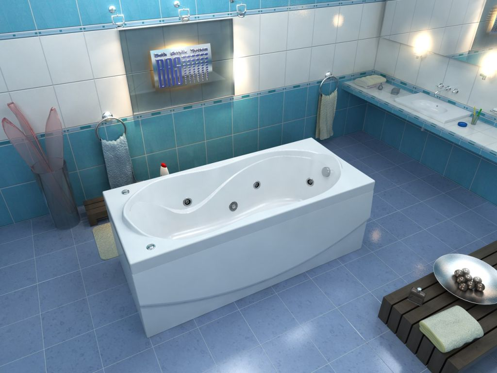 Самые популярные модели ванны из акрила
