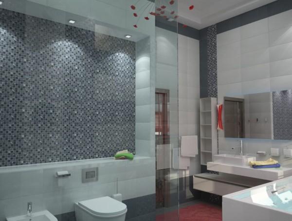 Hi-tech также отличается активным использованием стекла и искусственного освещения