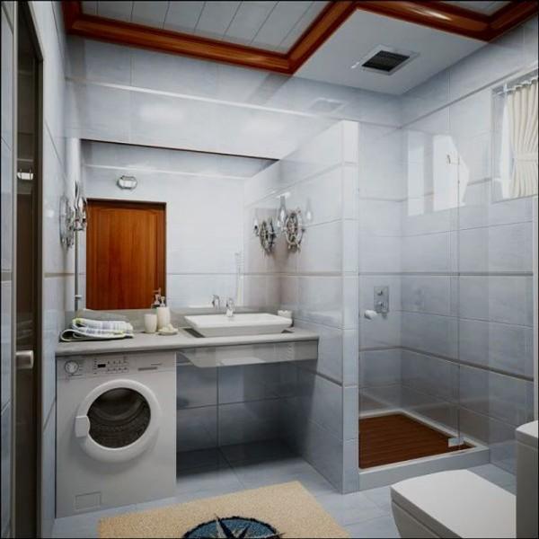 Кабинка – оптимальное решение в маленькую ванную
