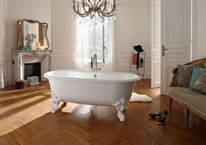 Окрашенная ванна