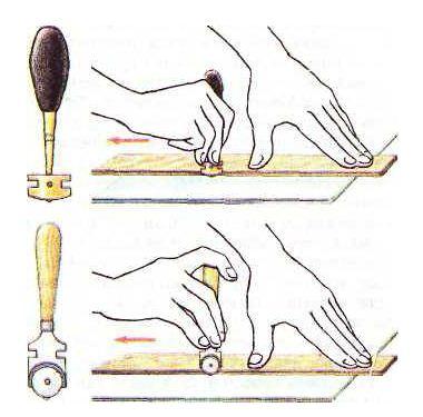Как правильно отрезать кафельную плитку при помощи алмазного и роликового стеклорезов