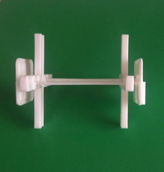 Крестовина для устройства межблочного шва