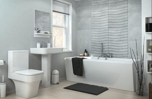 Материал для облицовки стен должен быть абсолютно водонепроницаемым