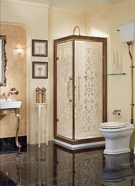 Матовые стекла к тому же могут быть украшены узорами, которые отлично дополнят интерьер