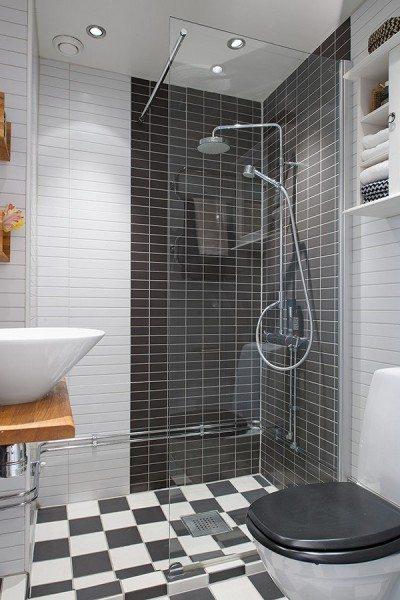 Мозаика, плитка и другие методы отделки позволят не только создать дизайн душевой, но и задать настроение всей комнате