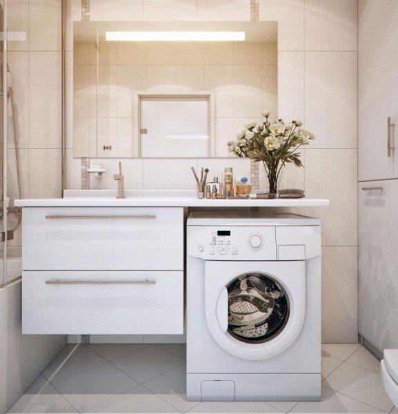 Находим удобное место для стиральной машинки