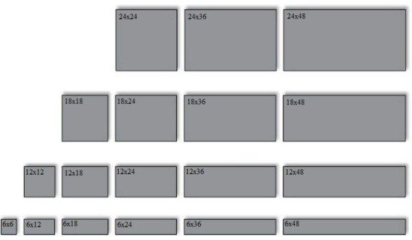 Ответ на вопрос, какой плиточный клей лучше, во многом зависит от размера выбранной плитки