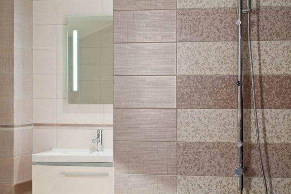 Плитка – наиболее популярная отделка ванных комнат