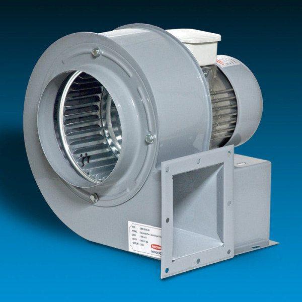 Пример бытового вентилятора радиального принципа функционирования