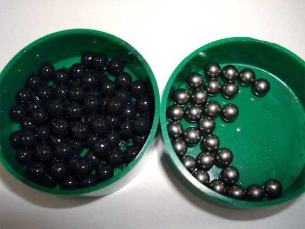 Пример шарикоподшипников до и после очистки ультразвуком
