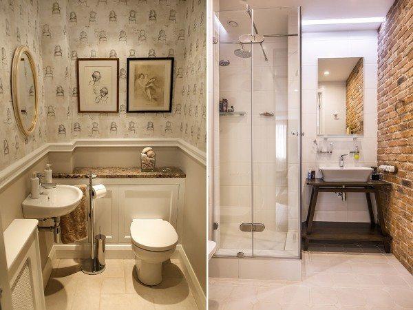 Ремонт в ванной в хрущевке должен активно задействовать каждый свободный сантиметр, будь то ниша или выступ, скрывающий коммуникации