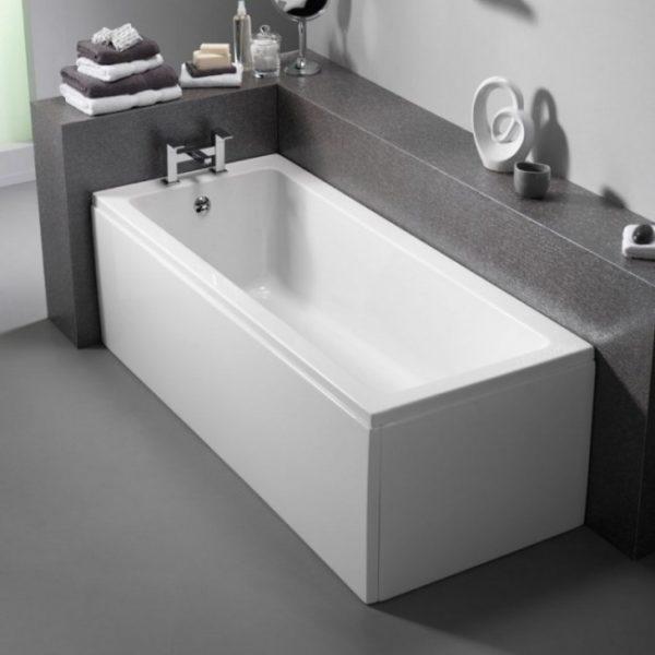 Самая распространенная форма миниатюрных ванн— это прямоугольник.