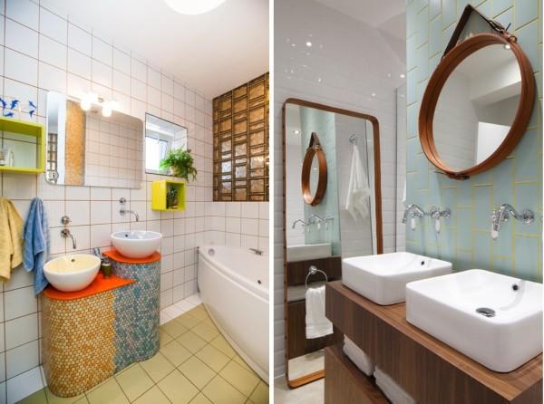 Цветная влагостойкая затирка для плитки в ванной