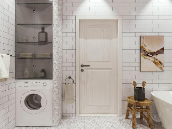 Важный плюс – с белым легко сочетается любая мебель и аксессуары