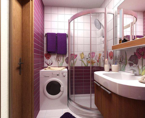 Вот так может трансформироваться ваша ванная комната после ликвидации сантехкабины